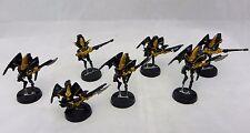 Warhammer 40K Dark Eldar Scourges   army lot   metal oop painted