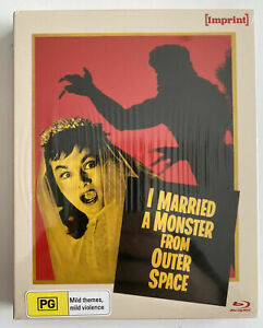 I Married A Monster From Outer Space (Blu-ray) Region Free Imprint New & Sealed