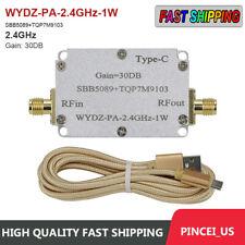 Sbb5089tqp7m9103 Microwave Power Amplifier Rf Power Amp Module 30db 24ghz 1w