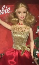 Target 2001 Home for the Holidays Barbie doll NRFB Happy Holiday Christmas