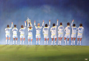 Leeds United Class of '72 -  20'' x 30'' Poster Print