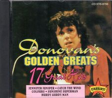 DONOVAN - Golden Greats - 17 Great Hits 1993 Australia CD ~ NEW and SEALED!
