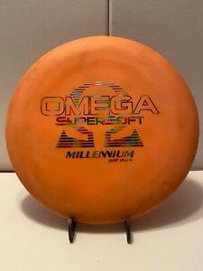 Millennium Omega Supersoft SS 175g Orange, Rainbow Foil, Embossed, 1.48, Ink
