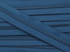 ZN05A-T0 20yards #5 DARK BLUE (910) Nylon coil continuous zipper, Zip tape chain