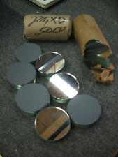 "1 lot of 50 pcs. for 3"" Size Neil Button Maker Parts supplies mirror back #914"