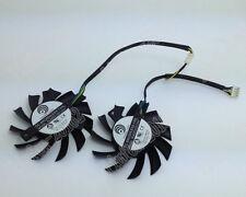 Microstar MSI R5770 N450GTS HAWK cooling graphics card double fan PLA07010S12HH