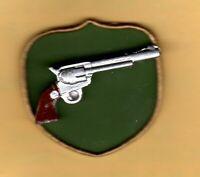 DOLLHOUSE 1:12 Miniature Cast Metal Hand-Painted Navy 1860 Colt Pistol