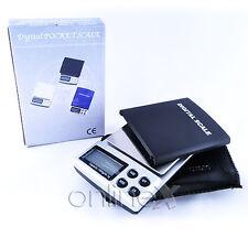 Balanza Peso Digital de Precisión 0,1gr-1000gr  a1238