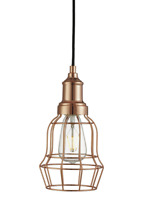 Searchlight 1 Light Foyer Pendant COPPER