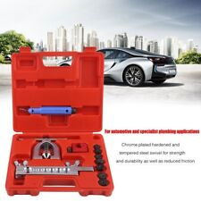Double Flaring Brake Line Tool Kit Tubing Car Truck Tool with Mini Pipe Cutter V