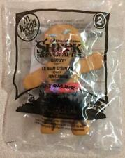 New 2010 McDonalds Shrek Forever After #2 Gingy Gingerbread Man Happy Meal Toy