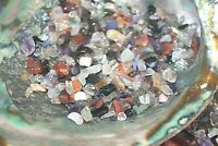 1/2 LB Tumbled Mix Chips 5-10mm Reiki Healing Crystals Amethyst Quartz Fluorite