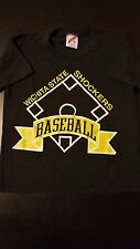 Vintage 80s 90s Wichita State Shockers Baseball Childrens Youth Small T-Shirt