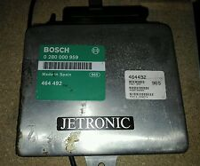 Motorsteuergerät Jetronic Volvo 440 460 480 Turbo 464492 Bosch 0 280 000 959