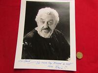 Bernard CRIBBINS  Dr WHO  & Wombles Actor Original Hand Signed 10 X 8 Photograph