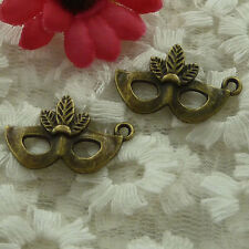 free ship 150 pieces bronze plated blinder charms 26x16mm #2535