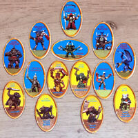 Advanced Heroquest Full Set Of 14 Character Tokens Games Workshop