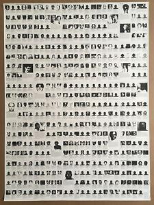 FELIX GONZALEZ TORRES - Untitled (Death By Gun) 1990 offset lithograph