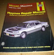 Haynes 72020 Nissan Maxima 1986-1992