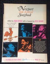 Newport Folk Festival Songbook - 1965 - Vintage