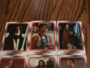 Lot of 10 TOPPS ON DEMAND STAR WARS Lenticular Cards. MINT