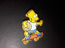 PIN'S Pin's The Simpson Bart skate