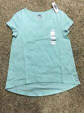NWT Old Navy Girls Hi-Lo T-Shirt Size Medium ~Color Sea Green ~ Free Shipping!!
