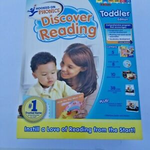 Hooked On Phonics Discover Reading Toddler Edition Full Set - NEW