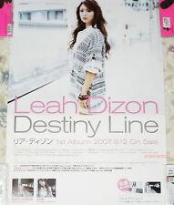Leah Dizon Destiny Line 2007 Japan Promo Poster