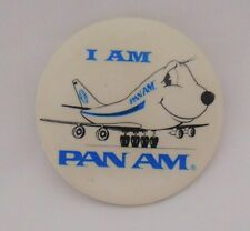 "Vintage ""I Am Pan Am"" Button"