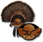 Turkey Fan Mounting Kit Hunting Tail Beard Wall Mount Trophy Display Decoration