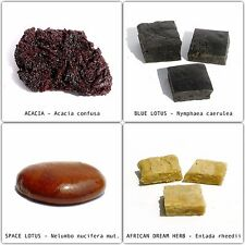 8 G RESIN EXTRACT VARIETY SET300 Acacia, Blue Lotus, Space Lotus, African Dream
