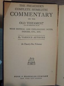 THE PREACHER'S HOMILETIC COMMENTARY (UNDATED) PROVERBS