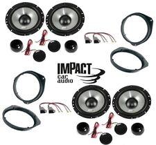 Impact Kit 8 Altavoces para Alfa Romeo Giulietta con Adaptadores y Soportes