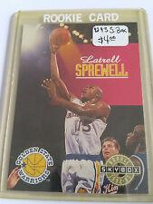 1992-93 SkyBox #342 Latrell Sprewell SP RC : Golden State Warriors