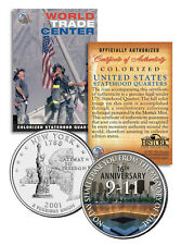 * 16th Anniversary * World Trade Center 9/11 US MINT NEW YORK STATE QUARTER COIN