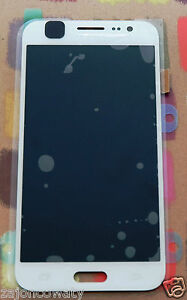 GENUINE WHITE SAMSUNG SM-J500F SM-J500FN GALAXY J5 SCREEN AMOLED HD LCD  DISPLAY