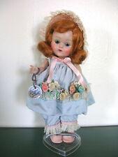 Vintage Vogue Ginny doll 50's painted lash auburn hair Mistress Mary