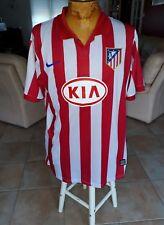 maillot jersey camiseta trikot maglia shirt atletico Madrid aguero 2008 2009 L