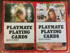 Rare Vintage Playboy Playmate Nude Playing Cards Twin Deck Retro 1970s