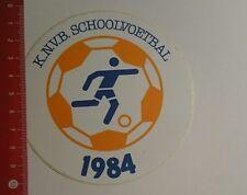 Aufkleber/Sticker: KNVB Schoolvoetbal 1984 (261216101)