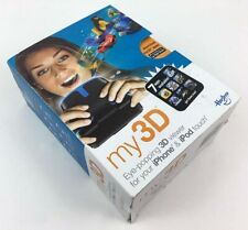 Hasbro my3D Eye-popping 3D Viewer for iPhone 4 & iPod touch 4th Gen, Black/Blue