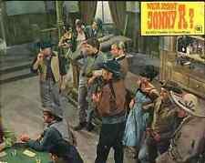 LEX BARKER Wer Kennt Jonny R lobby card vintage western Aushangfoto still retro