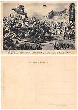 A4100) SCIARA-EL-SCIAT LIBIA 1911,84 FANTERIA CONQUISTA LA BANDIERA DEL PROFETA