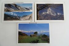 3 x NEPAL Postkarte Postcard Lot Asien Asia, frankiert, Post Cards with stamps