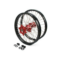 "1.6x21"" 2.15x18"" Wheels Rims Hub Set for Honda CR125R CR250R CRF250R 450R 250X"