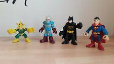 IMAGINEXT  Batman Superman Electro Mr Freeze Figure Bundle