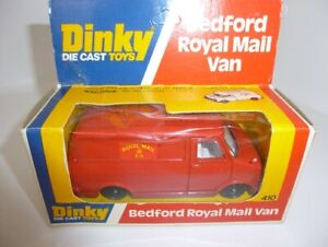 Dinky/Meccano Bedford Royal Mail van 410  1/43 (approx) VAT included