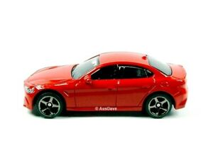 MATCHBOX / 2016 Alfa Romeo Giulia (Red) - No packaging.