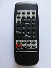 SHARP HIFI REMOTE CONTROL RRMCG0095AWSA for CDC470E CDC480H